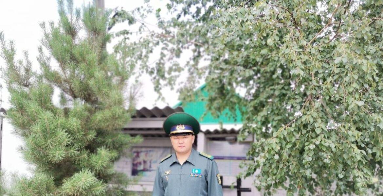 Пограничник спас ребенка от смерти в Северном Казахстане