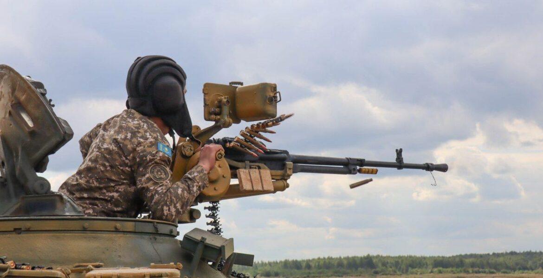 Насколько хороши казахстанские танкисты и что это такое — танковый биатлон?
