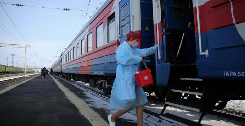 В Атырау запустили бесплатный поезд для вакцинации сельчан