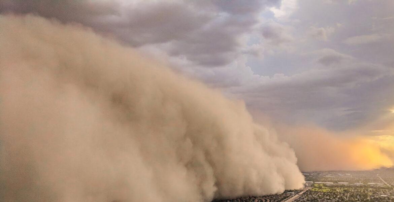 Пыльная буря, жара и ветер ожидаются в Казахстане