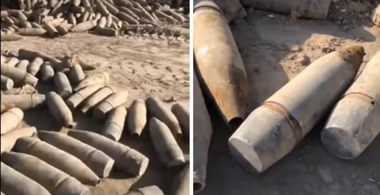 Груда снарядов из Арыси свалена у дома близ Тараза: в Минобороны дали комментарий