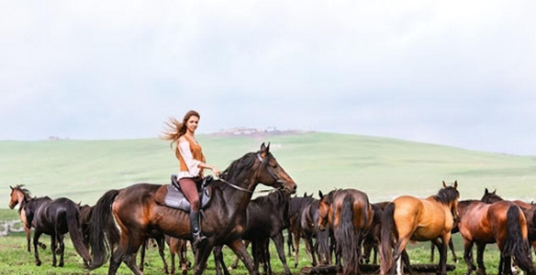 Девушка-пастух набирает популярность в Казнете