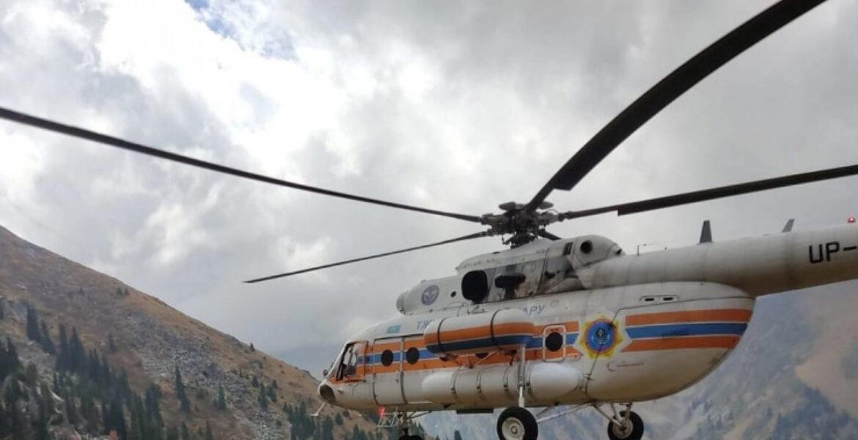 Турист сорвался с высоты в горах Алматы