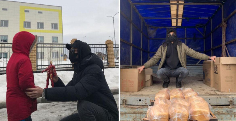 «Человек в маске» из Уральска удивляет Казнет своими видео