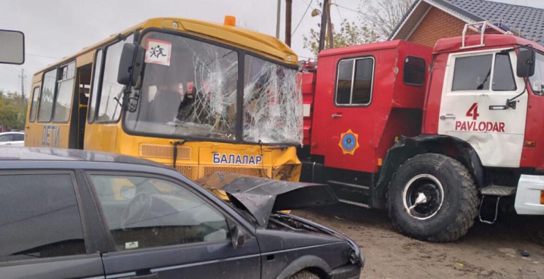 Стало известно о состоянии детей, пострадавших в массовом ДТП в Павлодаре